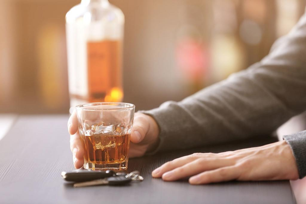 Drink Driving: Whiskey and car keys