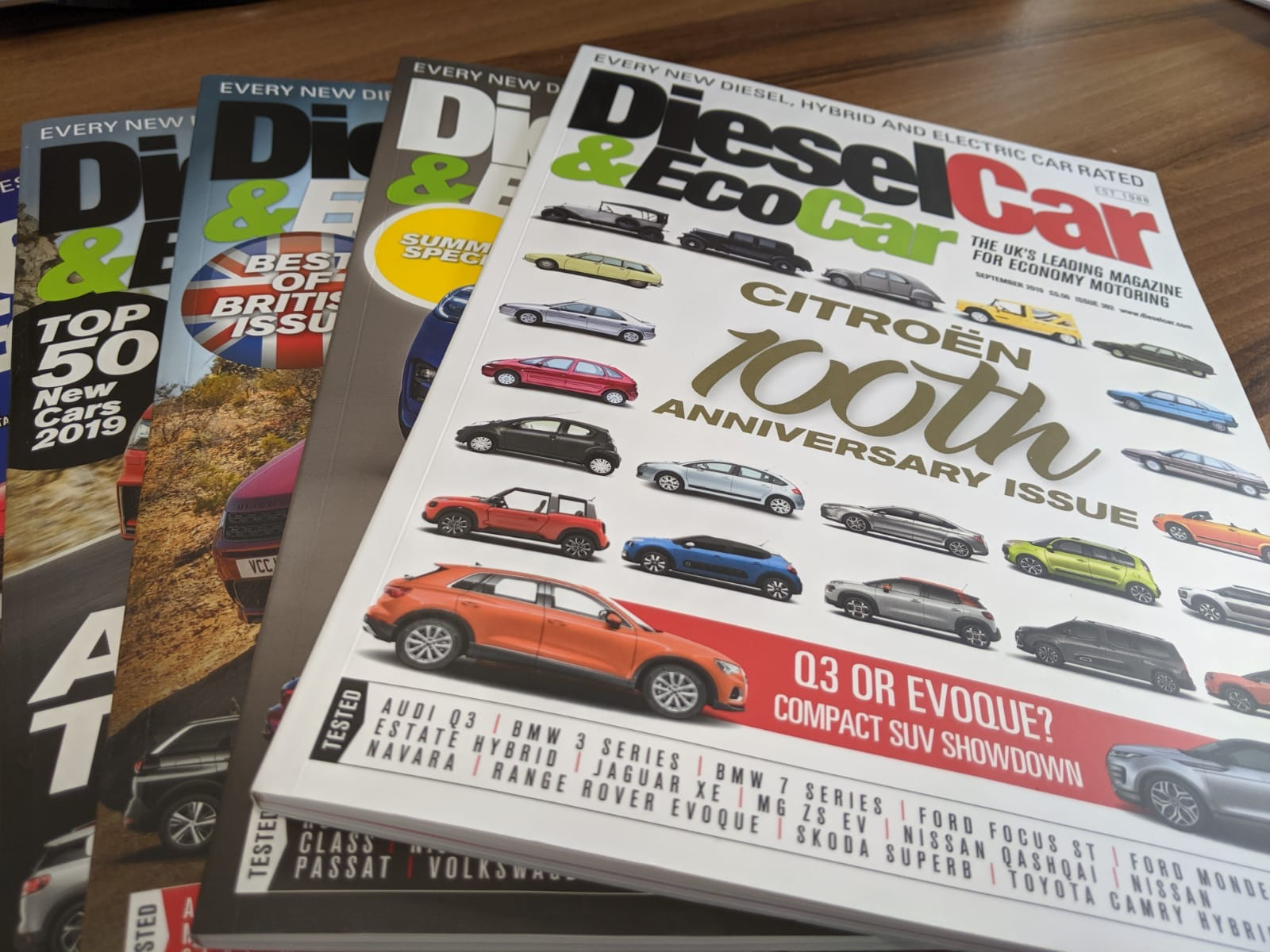 Our Motoring Lawyer Neil Sargeant is a featured writer in the Diesel Car & Eco Car Magazine