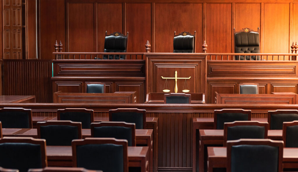 Delays to court system due to covid-19 pandemic