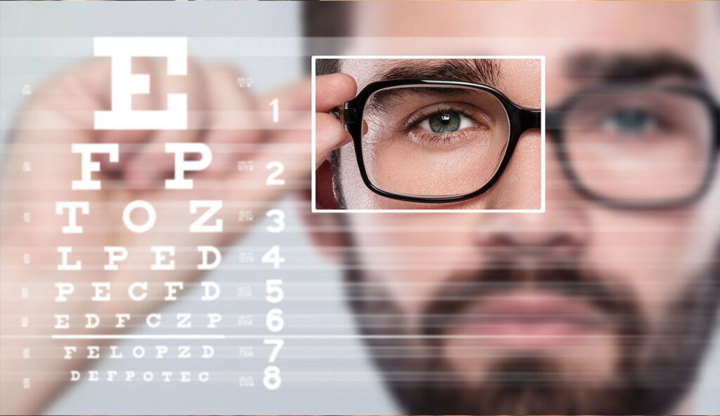 What to do if you fail an eye test?