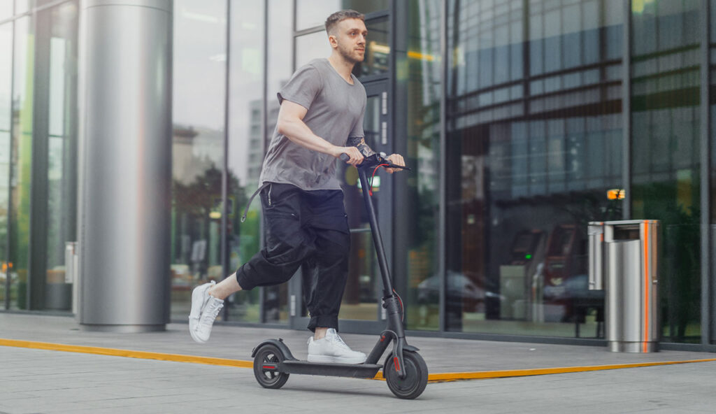 Driving an e-scooter while disqualified and potential legal issues